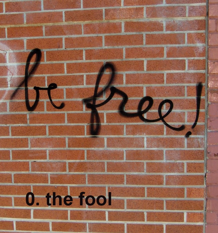 #0 The Fool - Toronto Graffiti Tarot