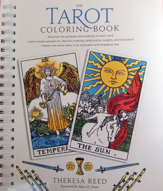 The Tarot Coloring Book by Theresa Reed, aka The Tarot Lady