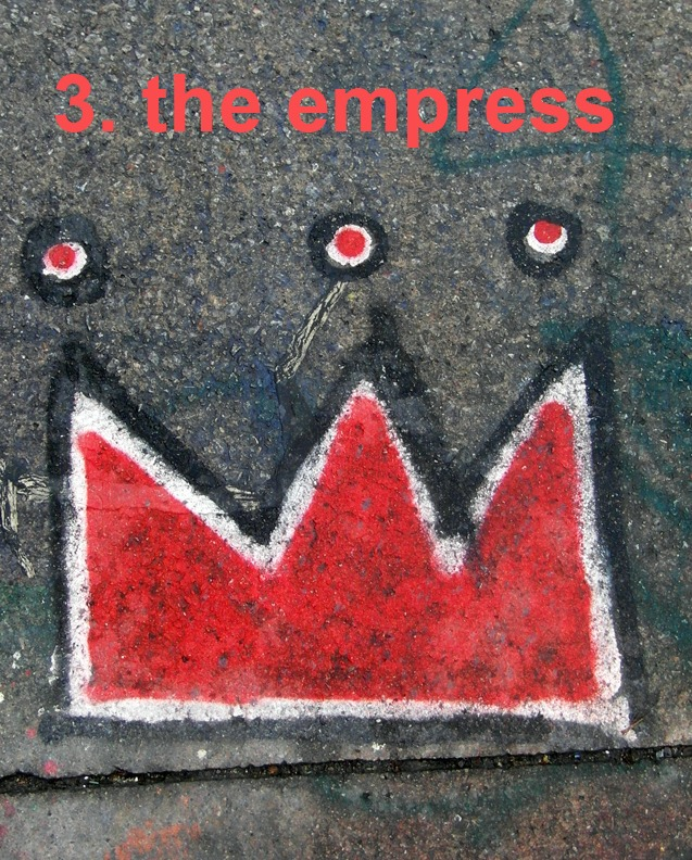 #3 The Empress - Toronto Graffiti Tarot