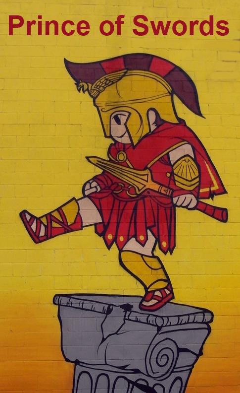 Prince of Swords - Toronto Graffiti Tarot