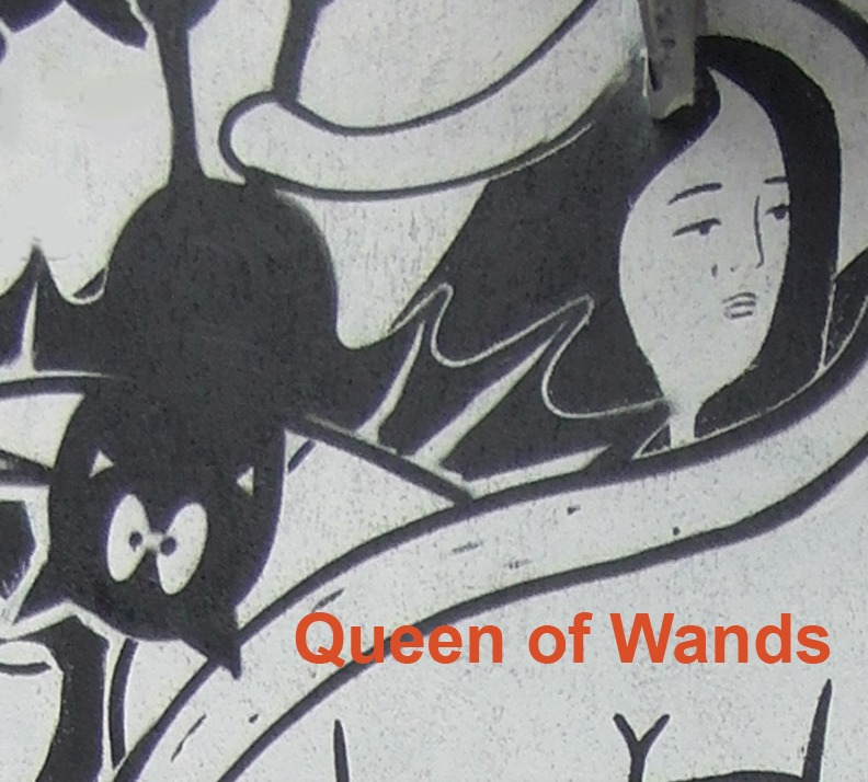 Queen of Wands - Toronto Graffiti Tarot