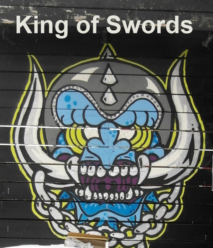 King of Swords - Toronto Graffiti Tarot