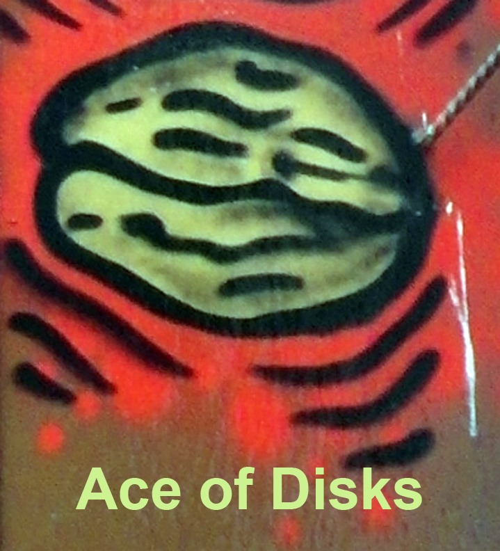 Ace of Disks - Toronto Graffiti Tarot