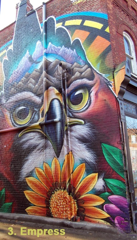 #3 Empress - Toronto Graffiti Tarot