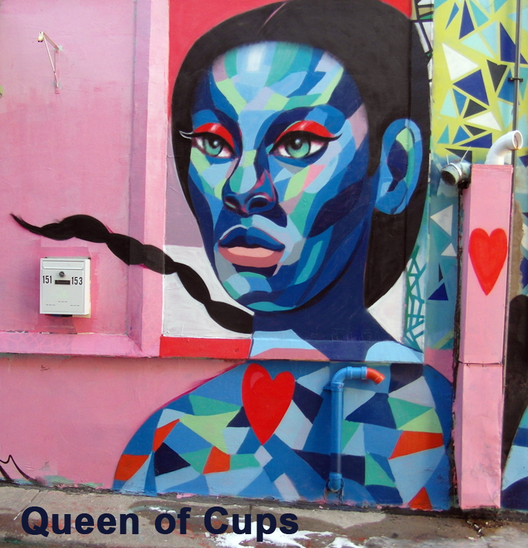 Queen of Cups - Toronto Graffiti Tarot