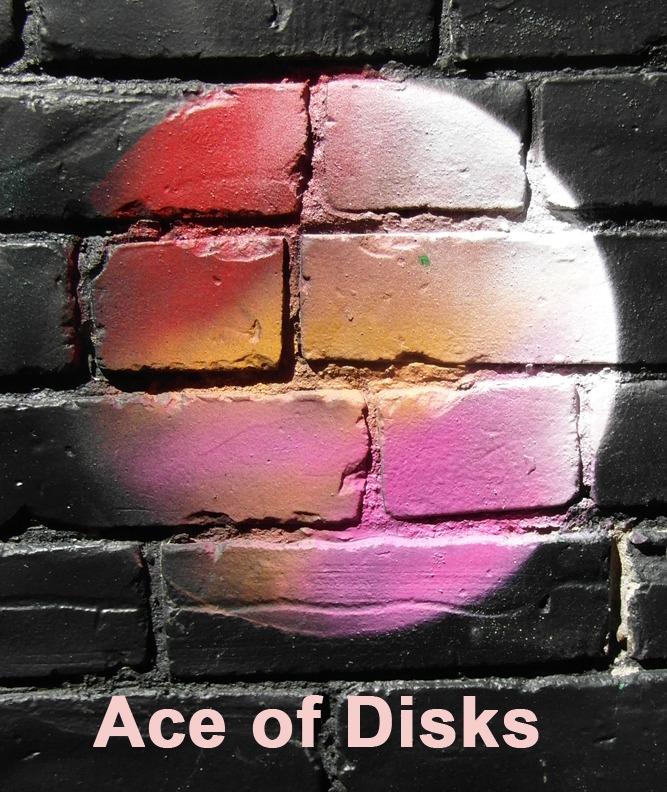 Ace of Disks - Toronto Graffiti Tarot