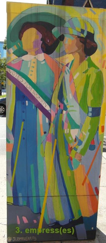 #3 The Empress(es) - Toronto Graffiti Tarot