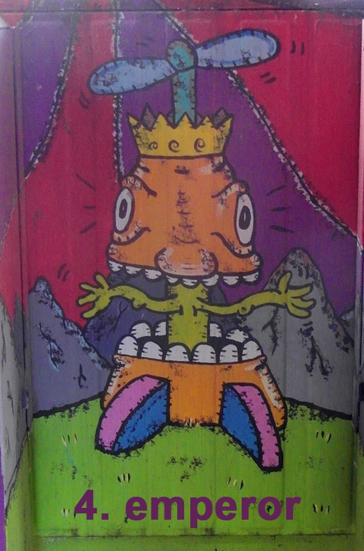 #4 The Emperor - Toronto Graffiti Tarot