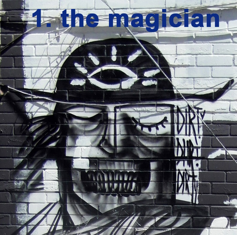 #1 The Magician - Toronto Graffiti Tarot