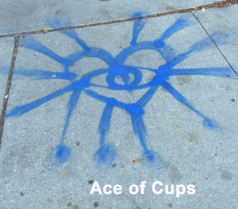 Ace of Cups - Toronto Graffiti Tarot