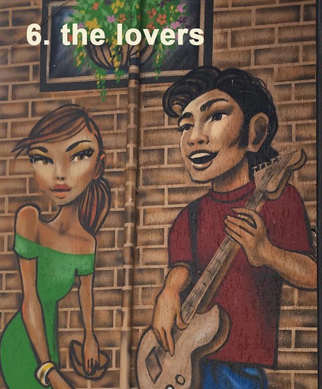 #6 The Lovers - Toronto Graffiti Tarot