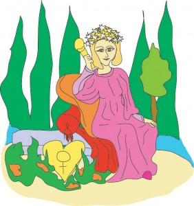 #3 The Empress from Georgie's Tarot