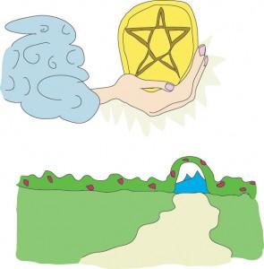 Ace of Pentacles from Georgie's Tarot