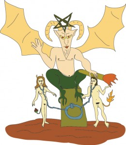 #15 The Devil from Georgie's Tarot