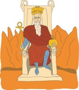 #4 The Emperor from Georgie's Tarot