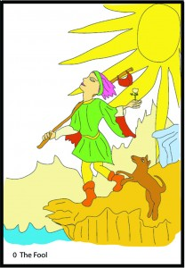 #0 The Fool from Georgie's Tarot