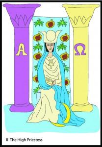 #2 The High Priestess from Georgie's Taro