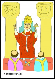 #5 The Hierophant from Georgie's Tarot
