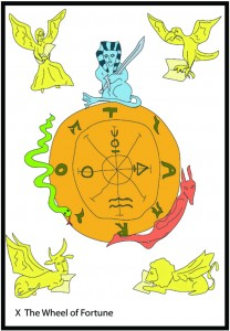 #10 The Wheel of Fortune from Georgie's Tarot