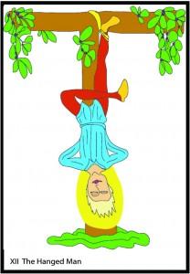 #12 The Hanged Man from Georgie's Tarot
