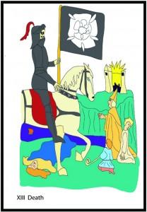 #13 Death from Georgie's Tarot