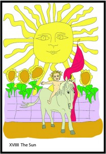 #19 The Sun from Georgie's Tarot