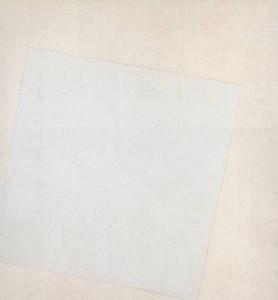 Kazmir Marevich's Suprematist Composition: White on White