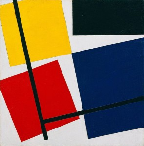 Theovan Doesburg's Simultaneous Counter Composition 1929-30
