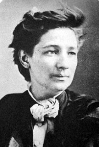 Victoria Woodhull, first American female presidential candidate