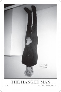 "Patrick McMullan, The Hanged Man (Andy Warhol as the ""Invisible Sculpture"" at Area, NYC), 1985/2010"