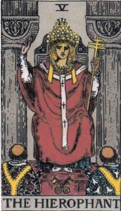 The Empress in the Hierophant's Clothing