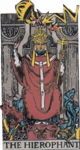 Tower Striking the Hierophant's Throne