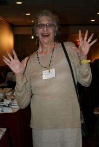 Rachel Pollack at the Bay Area Tarot Symposium 2011