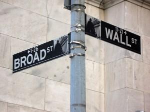 Wall Street at Broad Street