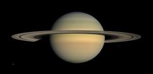 Saturn during Equinox - NASA Cassinni Orbiter