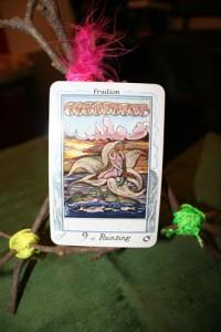 Magnolia Wood Tarot Easel
