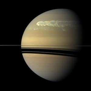 Storms on Saturn 2011 - NASA Cassini Orbiter