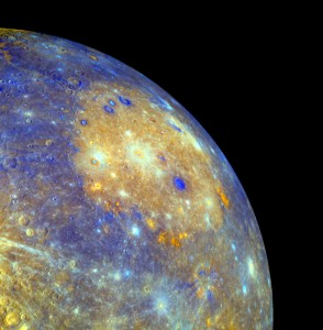 Mercury's Caloris Basin - NASA