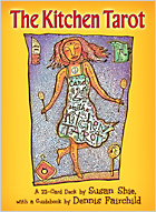 The Kitchen Tarot by Susan Shie, guidebook by Dennis Fairchild