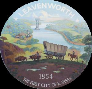 Seal for the City of Leavenworth, Kansas