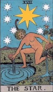 Sun in Aquarius, the Sun Dressed as The Star