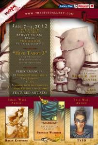 Hive Tarot 3 Invite
