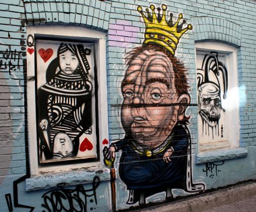 tarot graffiti