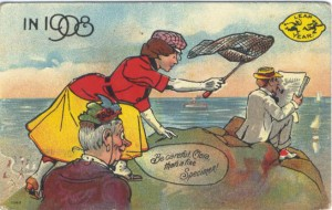 Leap Year Postcard - 1908