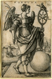 Beham, (Hans) Sebald (1500-1550): Fortuna