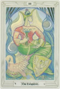 #3 The Empress from The Thoth Tarot by Harris and Crowley