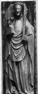 Saint John the Evangelist - alabaster sculpture from the Walters Art Museum
