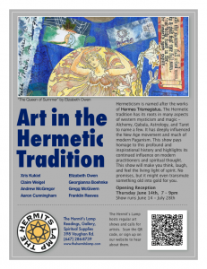 Art in the Hermetic Tradition at The Hermit's Lamp - June 14, 2012