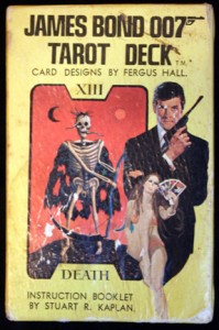 James Bond 007 Tarot Deck by Fergus Hall - 1973