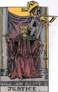 Mars in Libra, the Tower Strikes Justic
